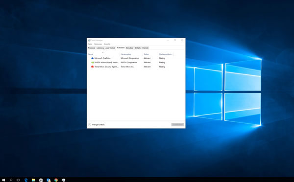 Windows 10 Perfomans erhöhen
