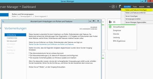 Windows Server Verwaltung