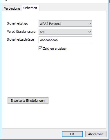 WLAN Passwort anzeigen